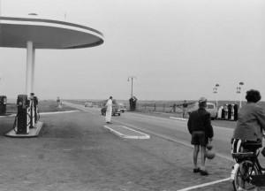 Benzinestation Afsluitdijk