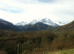 Vallei in de Pyreneeën