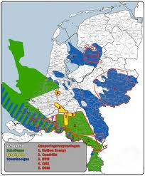 Shale gas and coal gas in the Netherlands.