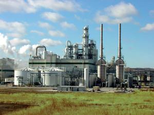Natureworks plant in Blair, Nebraska