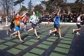 Paris marathon 2013