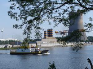 Veerboot Willem I, kanaal Gent-Terneuzen