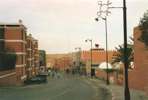 Het centrum van Laayoune