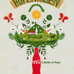 The Hopenhagen poster, published by Coca-Cola at the 2009 climate summit.