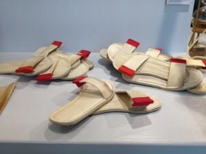 Flip-flops van palmblad