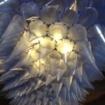 Lamp die reageert op geluid