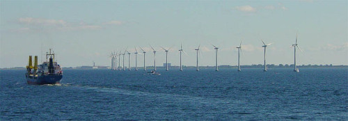 Danish offshore wind turbines