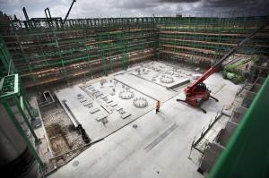 Matrìcafabriek in aanbouw