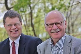Wolter Elbersen en Johan Sanders
