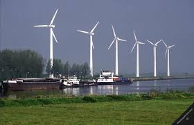 Wind park in Holland