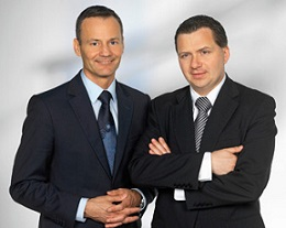 Andreas Krems, CFO and COO, and Alexander Pretsch, CEO of Sea Life Pharma
