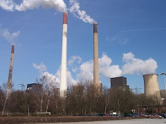 Gelsenkirchen Kraftwerk Scholven