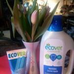 Band met de natuur herstellen is de boodschap die ook moet uitgaan van de verpakkingen van Ecover.