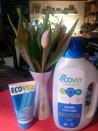 Ecover packaging should be part of the message to reconnect with nature.