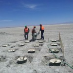 North Chili Codelco One of the small-scale and benign technologies that serve green growth is Groasis' Waterboxx. This allows successful replanation of even very arid areas. Picture: Waterboxx trials in Antofagasta mine.