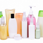 Many personal care products contain microplastics.