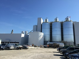 BioAmber biobased facility in Sarnia