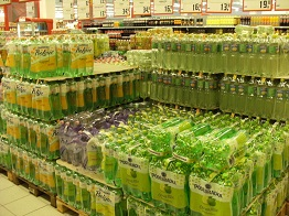Softdrink bottles Brno
