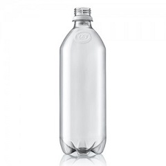PEF bottle from biobased MEG