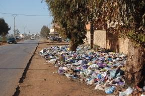 Plastic littering