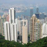 Hongkong Victoria Peak. Ecomodernism values positively urbanisation.