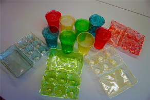 Chitosan can be used as a bioplasctic.