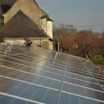 Solar panels near Nantes. Photo: Eric Delalonde