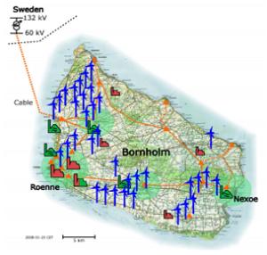 Bornholm smart grids