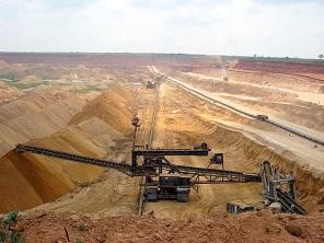 Phosphate mining