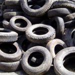 Recycling van afgedankte autobanden
