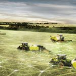 Connected machines for smart farming. Image: CLAAS