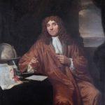 Antoni van Leeuwenhoek (1632-1723). Door Jan Verkoje.