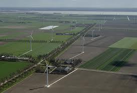 Flevoland wind turbines