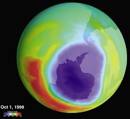 gat in de ozonlaag