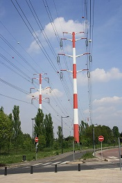 high voltsge power line