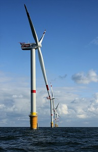 wind park North Sea