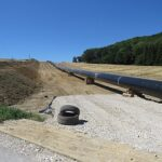 Energy infrastructure: gas pipeline under construction. Photo: Vuxi, Wikimedia Commons.