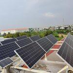 Solar panels in Vietnam. Photo: Wikimedia Commons.