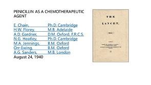 Penicillin as a chemotherapeutic agent