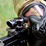Masks can shield soldiers from many bacteriological threats. Photo: Wikimedia Commons.