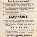 Advertisement for the development of penicillin in the Netherlands